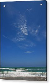 A Hot Afternoon At The Beach Acrylic Print