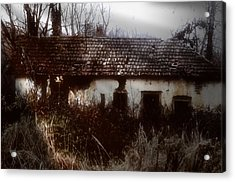 A House In The Woods Acrylic Print by Mimulux patricia no No