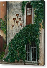 A House Of Vines Acrylic Print