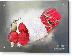 A Hummer Of A Christmas Acrylic Print