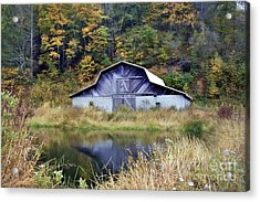 A Is For Autumn Acrylic Print by Benanne Stiens