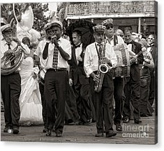 A Jazz Wedding In New Orleans Acrylic Print