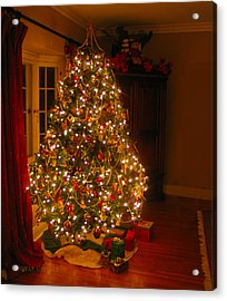 A Jewel Of A Christmas Tree Acrylic Print