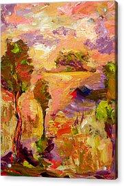 A Joyous Landscape Acrylic Print