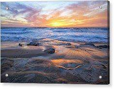 A La Jolla Sunset #1 Acrylic Print