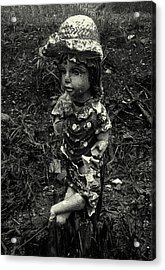 Acrylic Print featuring the photograph A Lady by Amarildo Correa