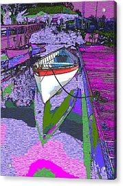 A Lakeside Wonderful Acrylic Print