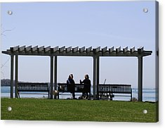 A Lazy Day Acrylic Print by Paul SEQUENCE Ferguson             sequence dot net