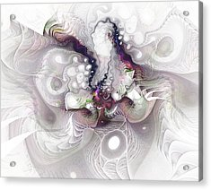 A Leap Of Faith - Fractal Art Acrylic Print