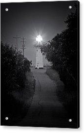 A Light In A Dark Place Acrylic Print by Nicholas Blackwell