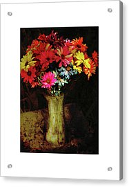 A Light Shines Into The Darkness Of My Soul Acrylic Print