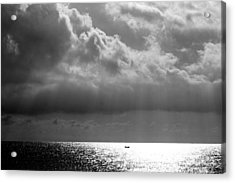 A Light Will Shine Down Acrylic Print by Martina  Rathgens