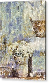 A Little Bit Of Country Acrylic Print by Shirley Stalter