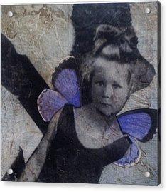 A Little Broken Acrylic Print by Susan McCarrell