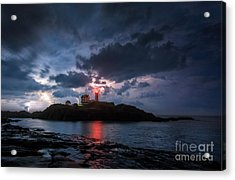 A Little Extra Light Acrylic Print by Scott Thorp