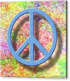A Little Peace Acrylic Print