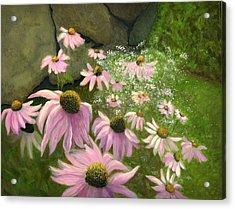 A Lovely Garden Acrylic Print by Karyn Robinson