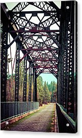 Acrylic Print featuring the photograph A Lovely Path by Mary Hone