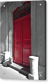 A Magic Red Door Acrylic Print