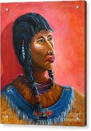 A Maiden Waits Acrylic Print