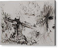 A Man Of Sorrows Acrylic Print