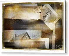 A Man's Story Acrylic Print by Craig J Satterlee