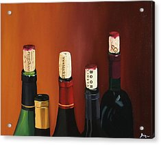 A Maryland Wine Party Acrylic Print by Brien Cole