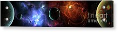 A Massive And Crowded Universe Acrylic Print by Brian Christensen