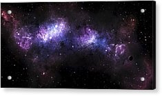 A Massive Nebula Covers A Huge Region Acrylic Print by Justin Kelly