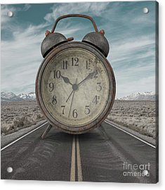 Acrylic Print featuring the photograph A Matter Of Time Surreal by Edward Fielding