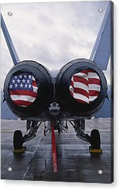 A Mcdonnell Douglas F/a-18 Hornet Twin-engine Supersonic Fighter Aircraft Acrylic Print