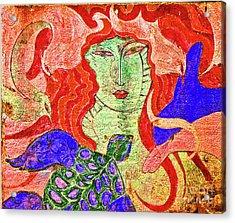 A Mermaids Life Acrylic Print