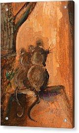 A Mice Night Acrylic Print