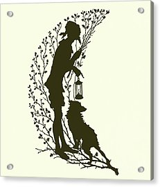 A Midsummer Night's Dream, Silhouette  Acrylic Print