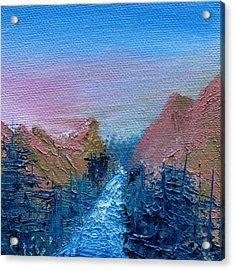 A Mighty River Canyon Acrylic Print