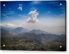 A Million Miles With You Acrylic Print by Laurie Search