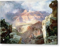 A Miracle Of Nature Acrylic Print by Thomas Moran