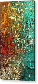 A Moment In Time - Abstract Art Acrylic Print
