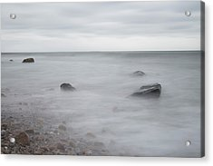 Acrylic Print featuring the photograph A Moment In Time On The Beach by Andrew Pacheco
