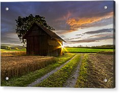 A Moment Like This Acrylic Print by Debra and Dave Vanderlaan