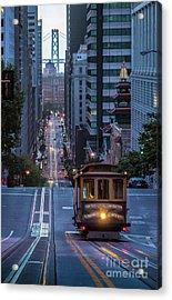 A Morning On California Street Acrylic Print by JR Photography