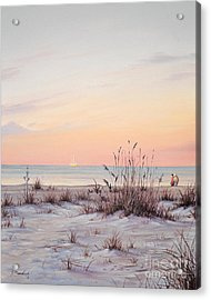 A Morning Stroll Acrylic Print by Joe Mandrick