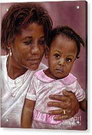 A Mother's Love Acrylic Print