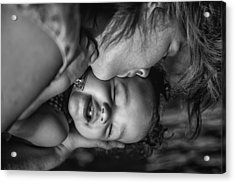 Acrylic Print featuring the photograph A Mothers Love by Ryan Smith