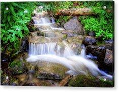 A Mountain Stream Pleases Me More Than The Sea Acrylic Print