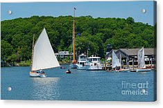 A Mystic Seaport Summer Photograph by Joe Geraci