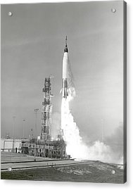 A Nasa Project Mercury Spacecraft Acrylic Print
