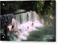 A Natural Warm Shower  Acrylic Print