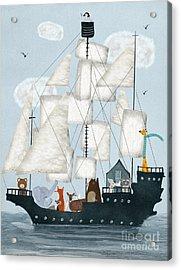 A Nautical Adventure Acrylic Print