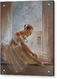 A New Day Ballerina Dance Acrylic Print